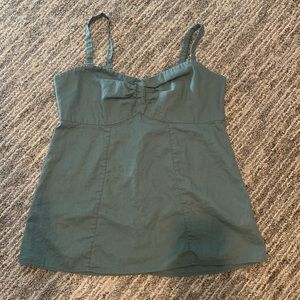 Patagonia tank, green, size 12, fits like a 10